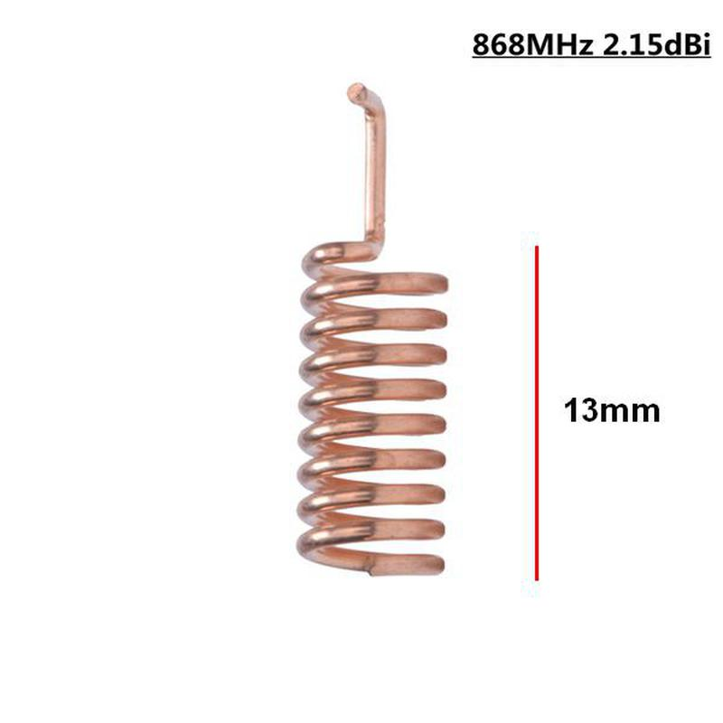 Antenne ressort HPD215T-B-868MHz - 2.15dBi - 13mm