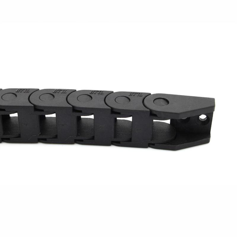 Chaînes porte-câbles 7 x 7 x 1000 mm pour imprimantes 3D et CNC