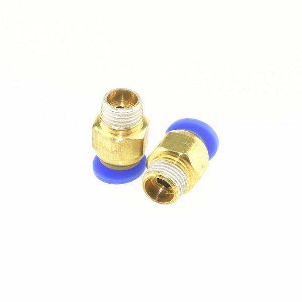 Connecteur PC4-M10 pour extrudeuse avec tube PTFE filament 1.75mm