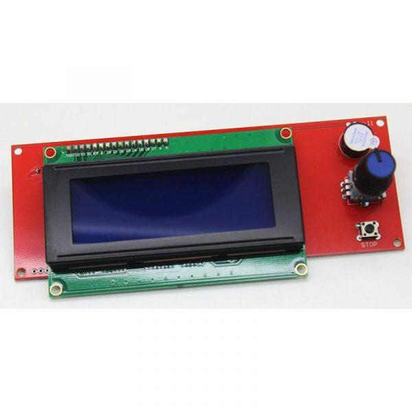 Ecran LCD 2004 - lecteur SD - adaptateur pour RAMPS 1.4