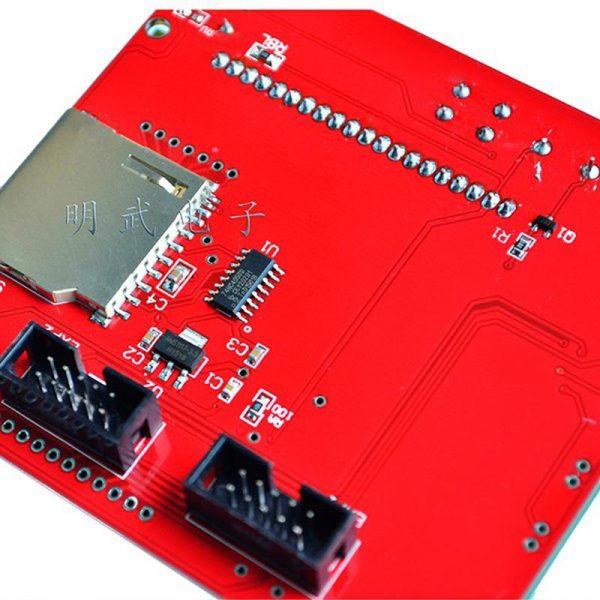 Ecran graphique 128x64 - lecteur SD - adaptateur pour RAMPS 1.4