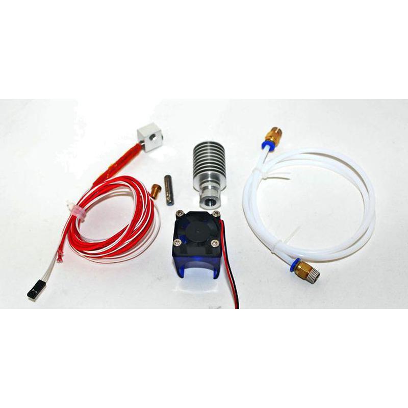 Kit d'extrusion E3D V5 pour filialement 1,75mm avec extension bowden