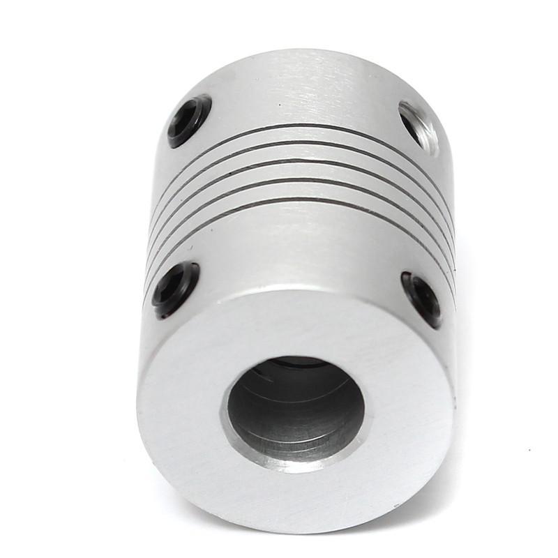 Coupleur souple 5x8mm Aluminium