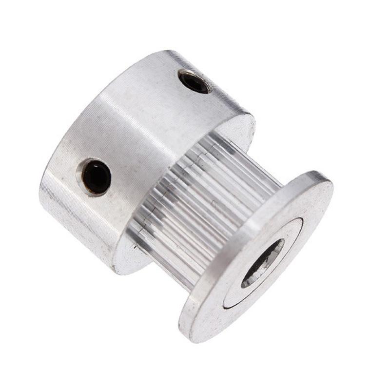 GT2-20 - Poulie 20 dents en Aluminium, pour axe de 5mm