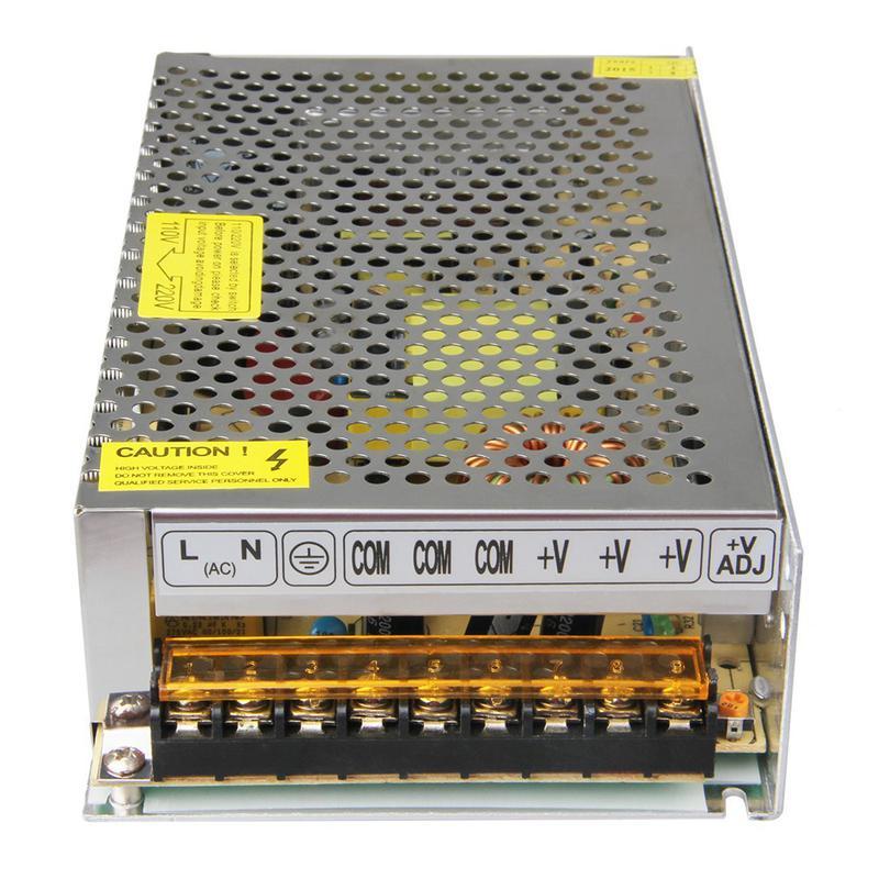 S-250-12 - Alimentation 110/220VAC 12V 20A DC pour imprimante 3D compatible Reprap