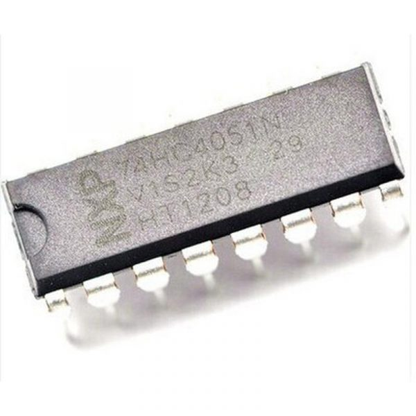 74HC4051N - multiplexeurs, démultiplexeurs à 8 canaux analogiques