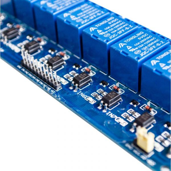 Module 8 Relais 250V 10A (sans bornier)
