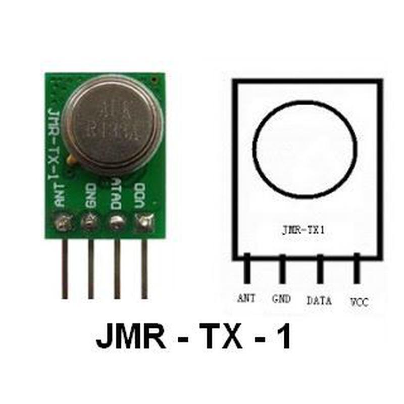 Kit RX/TX 433Mhz - Récepteur RXB61 - Emetteur JMR-TX-1