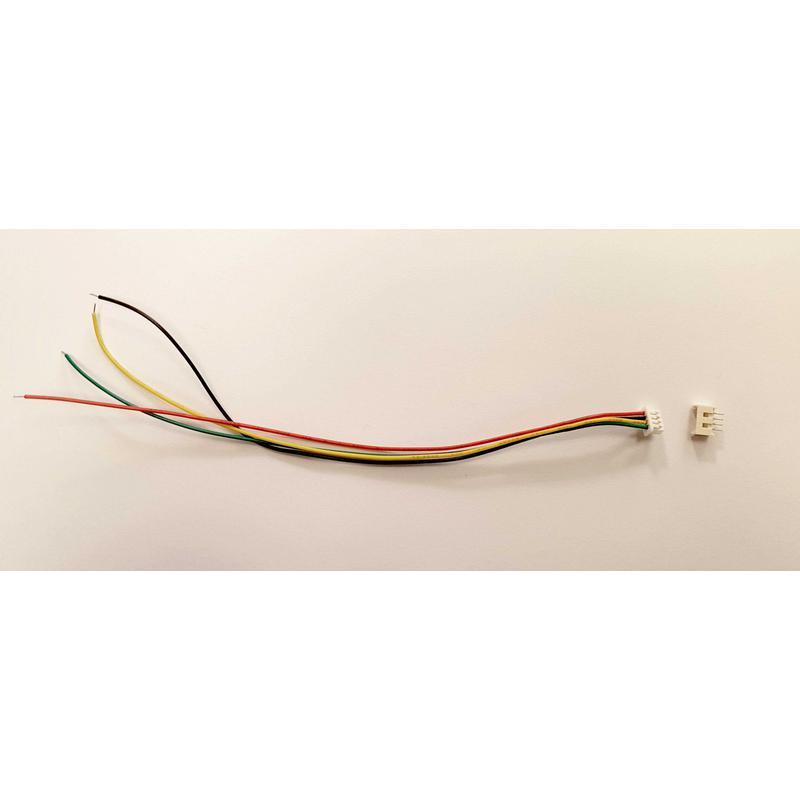 Set Connecteur 3 Pins - malle pas 1.25mm fil 150mm + Embase femelle travesante à souder