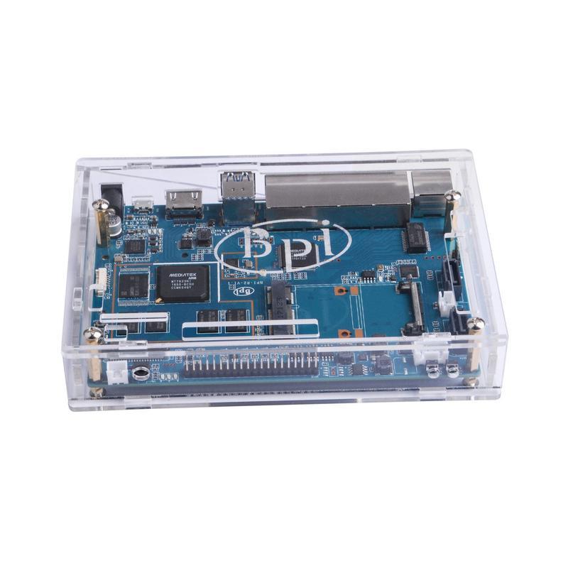 Boitier acrylique pour le routeur Banana PI BPI-R2