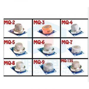 KIT 9 CAPTEURS DE GAZ