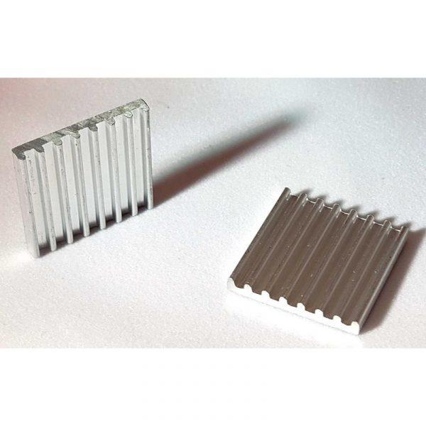 KIT Dissipateur thermique en aluminium pour le CPU et la mémoire RAM du Banana PI