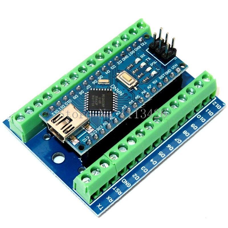 Carte d'extension à bornier Arduino Nano